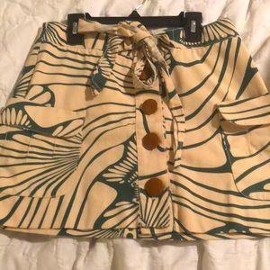 JCREW cotton skirt